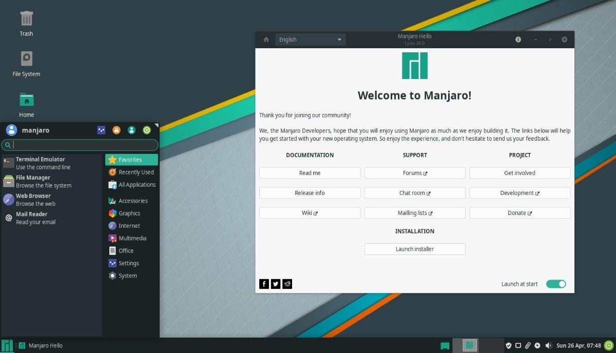 Manjaro Linux 20.0 'Lysia' đã phát hành trải nghiệm Arch thân thiện với người mới bắt đầu