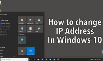 Cách đổi địa chỉ IP trên Windows 10: Hướng dẫn chi tiết