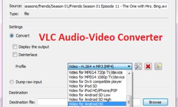 Cách đổi định dạng nhạc/video bằng VLC Media Player
