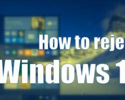 Cách hủy nâng cấp Windows 10 được đề xuất trong Windows 7 và 8.1