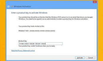 Cách kích hoạt Windows 10 bằng Product Key của Win 7 hoặc 8.1