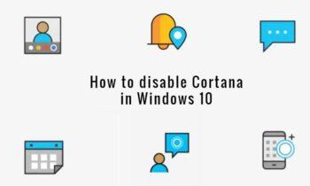 Cách tắt 'hoàn toàn 'Cortana trong Windows 10 [100% hiệu quả]