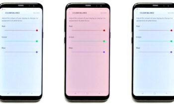 Khắc phục lỗi màn hình màu đỏ trên Samsung S8